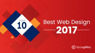 Top 10 Best Web Design Inspiration of 2017