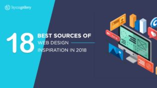 18 Best Sources of web design inspiration in 2018