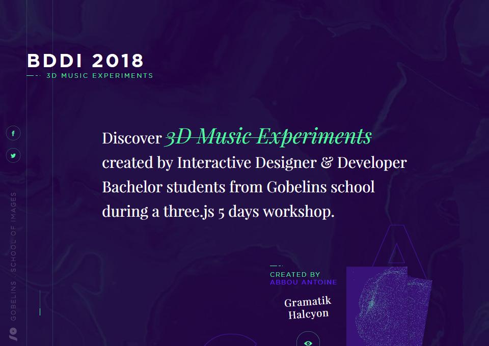3D Music XP – BDDI 2018