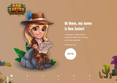 Dee Zaster on Monster Island