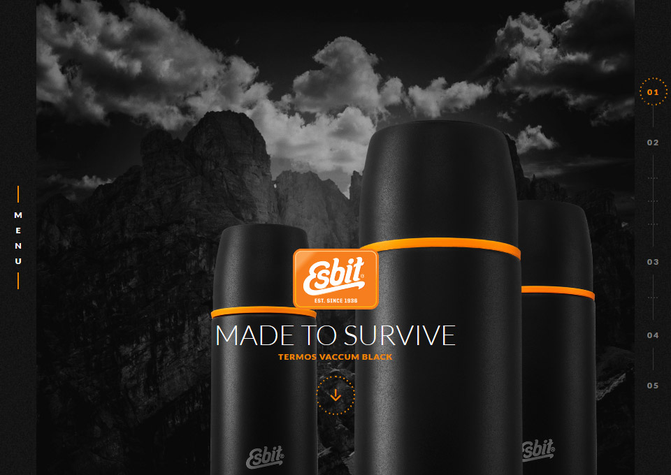 Esbit thermos -Made to survive