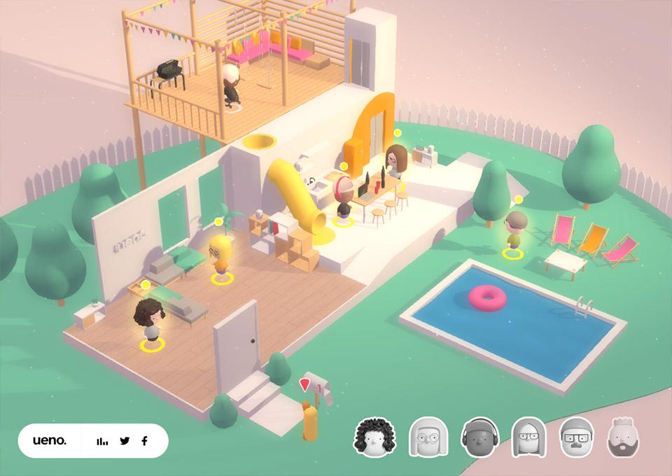 Ueno 3D Interview
