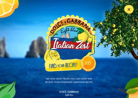 Light Blue Italian Zest by Dolce & Gabbana