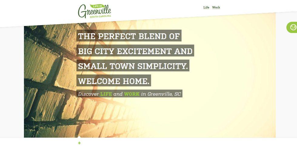 Greenwille web design inspiration