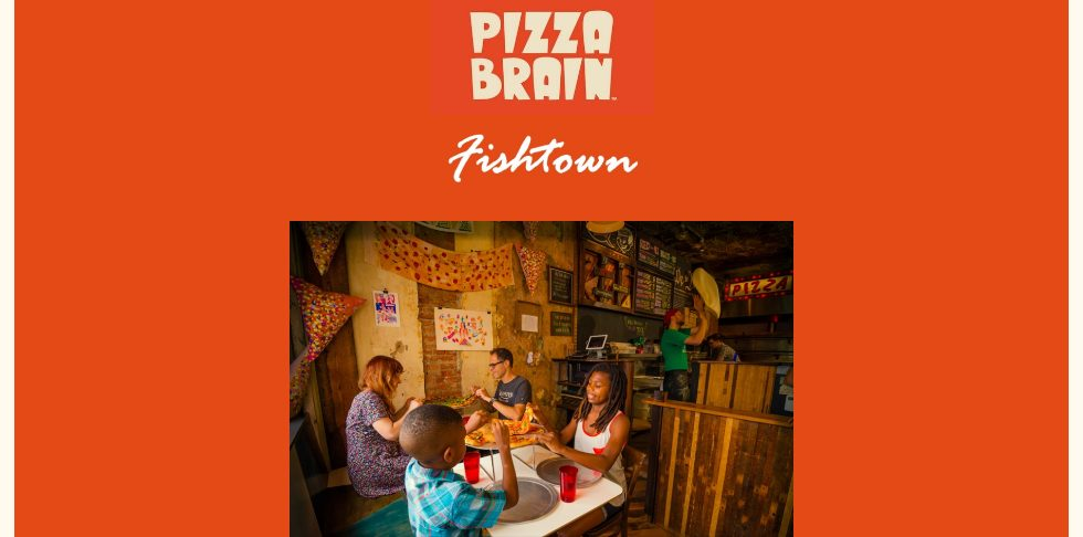 Pizza website design inspiration
