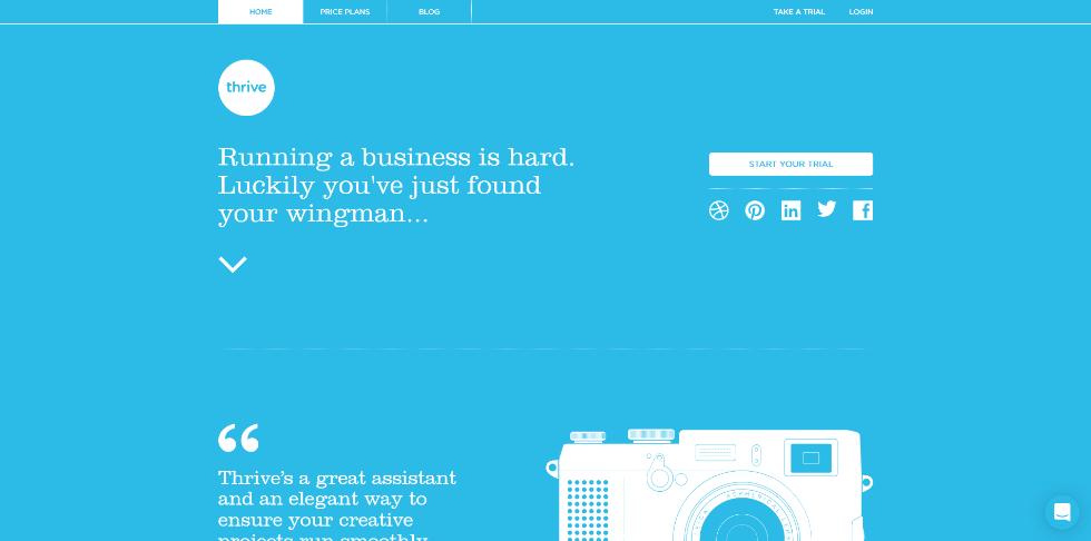 web design inspiration for solo