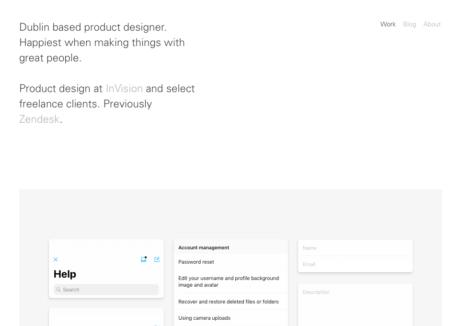 Jonny Belton Product Designer