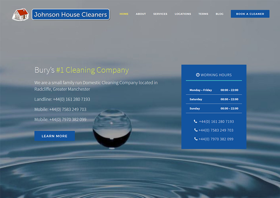 Johnson House Cleaners