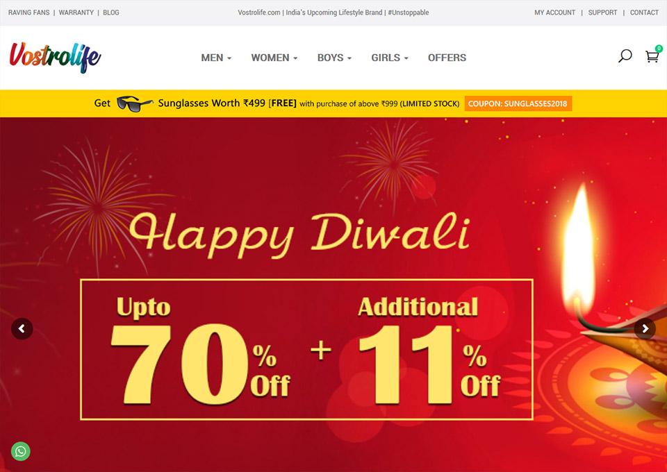 Vostrolife, Buy Shoes Online India