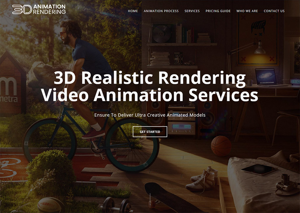 3D Animation Rendering