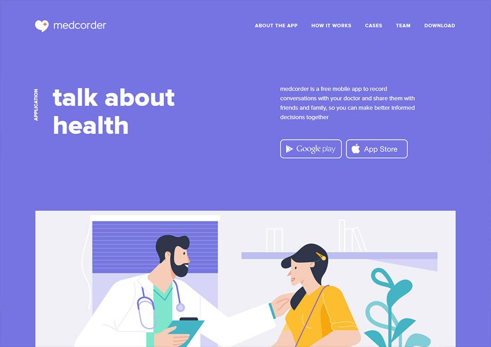 Medcorder – mobile app