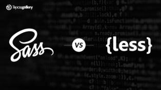 Comparison Between Leading CSS Preprocessors: 𝐒𝐀𝐒𝐒 𝐕𝐬. 𝐋𝐄𝐒𝐒