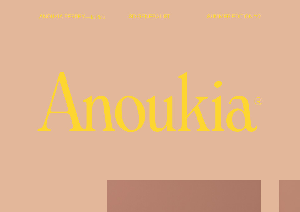Anoukia in Pink