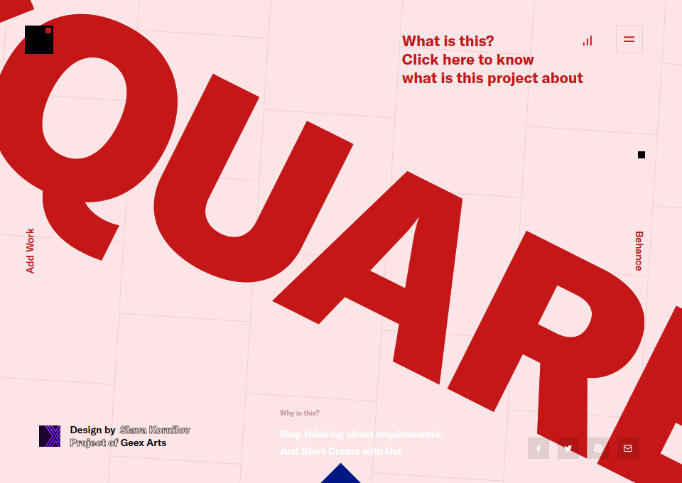 Square – Interface Game