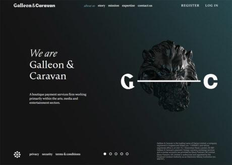 Galleon & Caravan