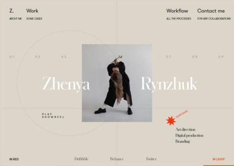 Zhenya Rynzhuk Folio 2019