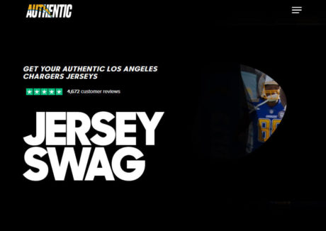 Authentic Los Angeles Chargers