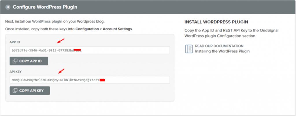 Configure WordPress Plugin