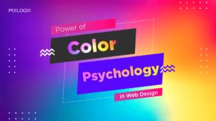 Power of Color Psychology in web design