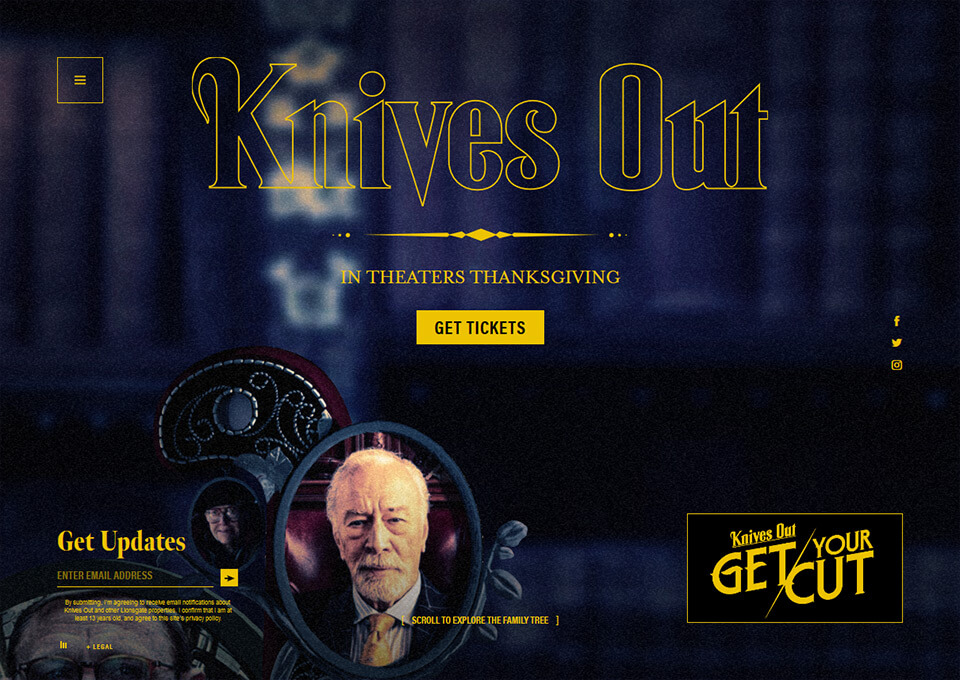 Knives Out Official Movie Site
