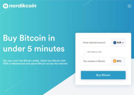 NordikCoin Bitcoin Exchange