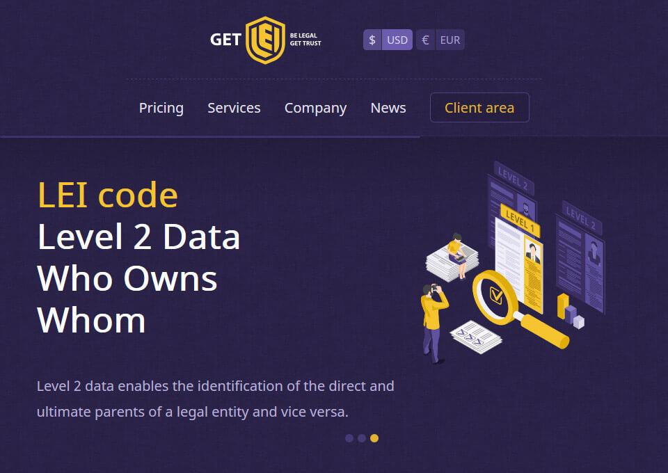 Official LEI code Registrar