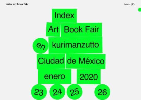 Index Art Book Fair – kurimanzutto