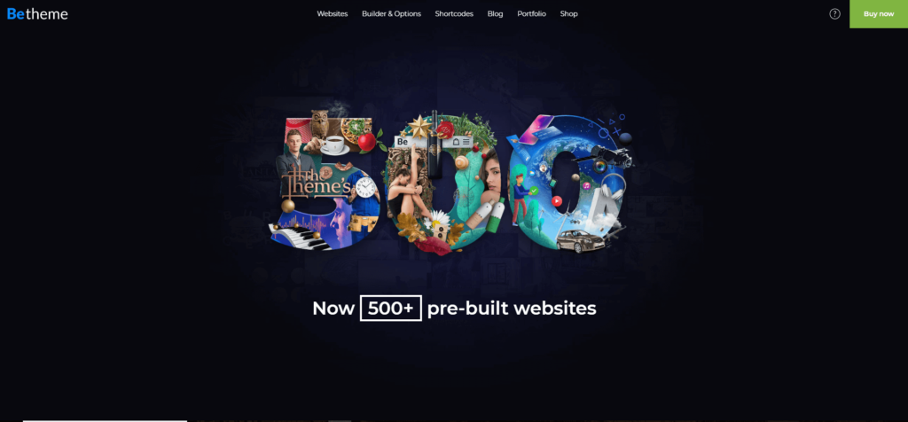 BeTheme WordPress themes