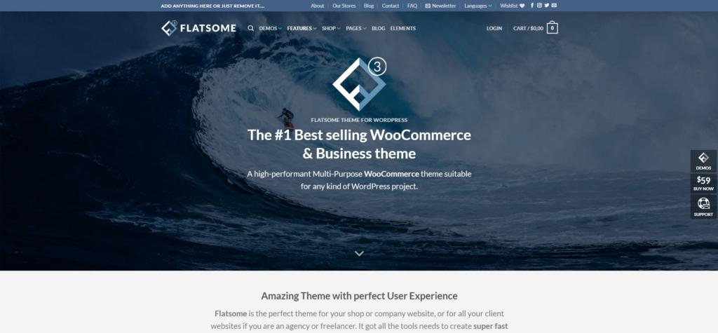 Flatsome responsive multi-purpose theme