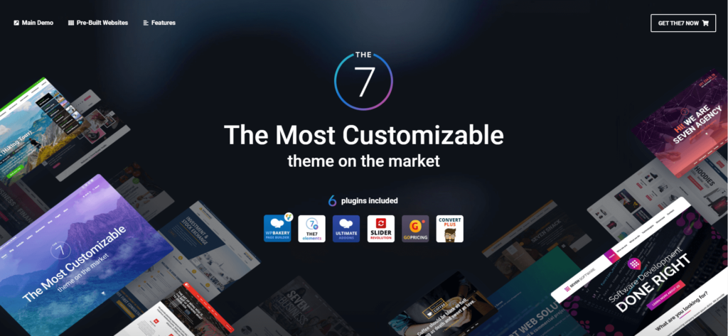 The7 mobile-friendly woocommerce theme