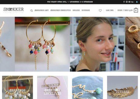 Smækker øreringe og unikke smykker