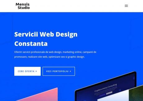 Mensis Agency – Web development