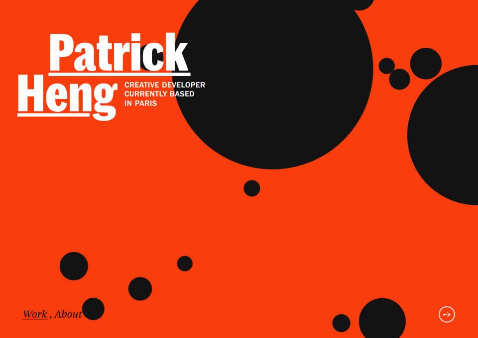 Patrick HENG – Portfolio