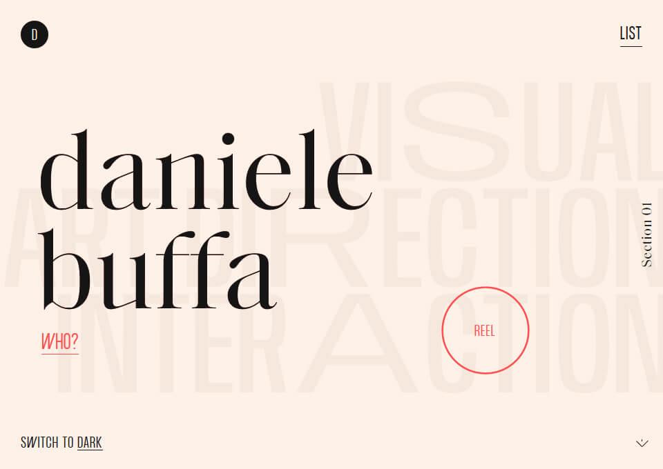 Daniele Buffa – Portfolio