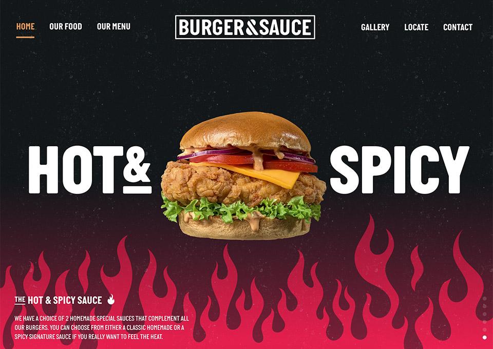 Burger & Sauce