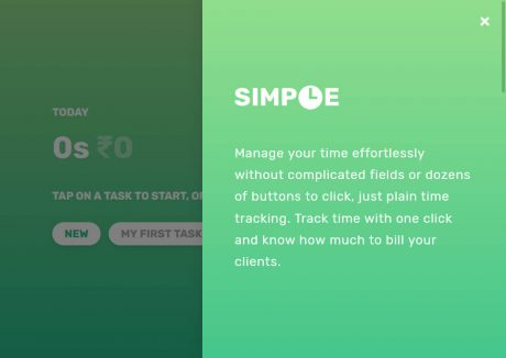 Simple – Time Tracker