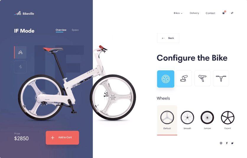 Bike Shop Interaction Concept
