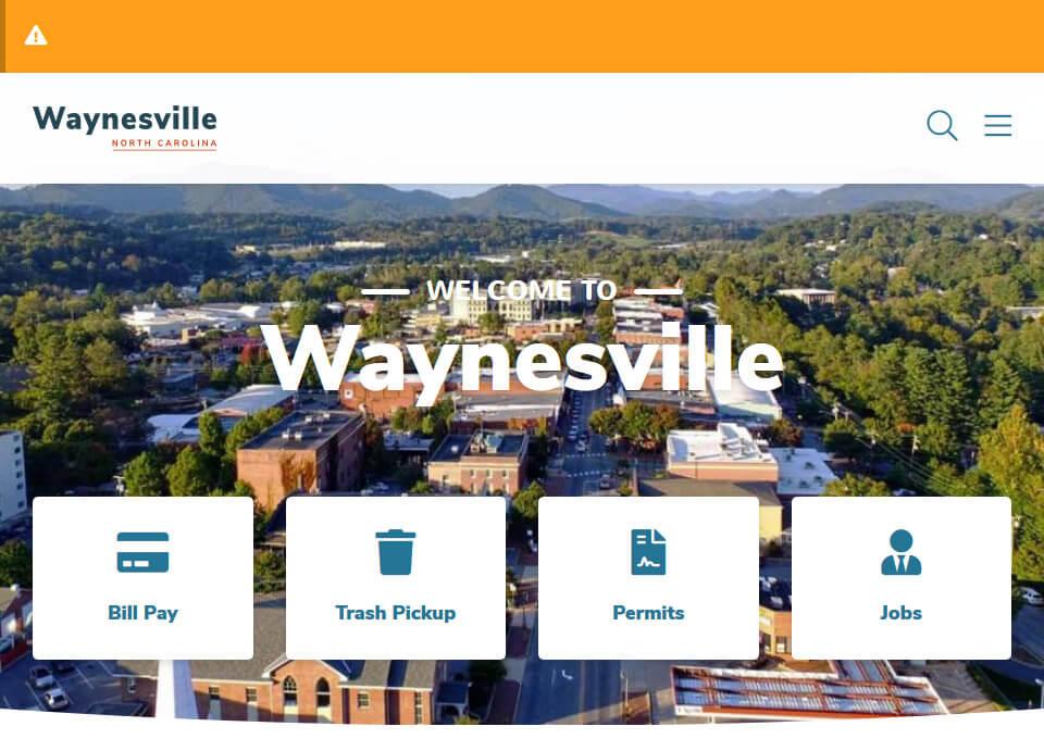 The Town of Waynesville