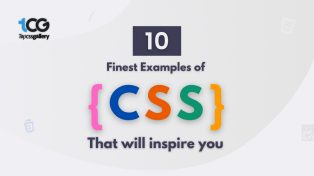 10 Finest examples of CSS that will inspire you!