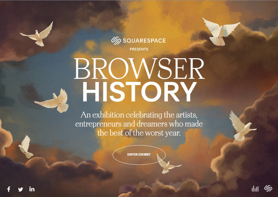 Squarespace Browser History