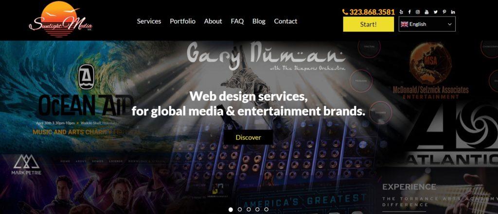 web design company la
