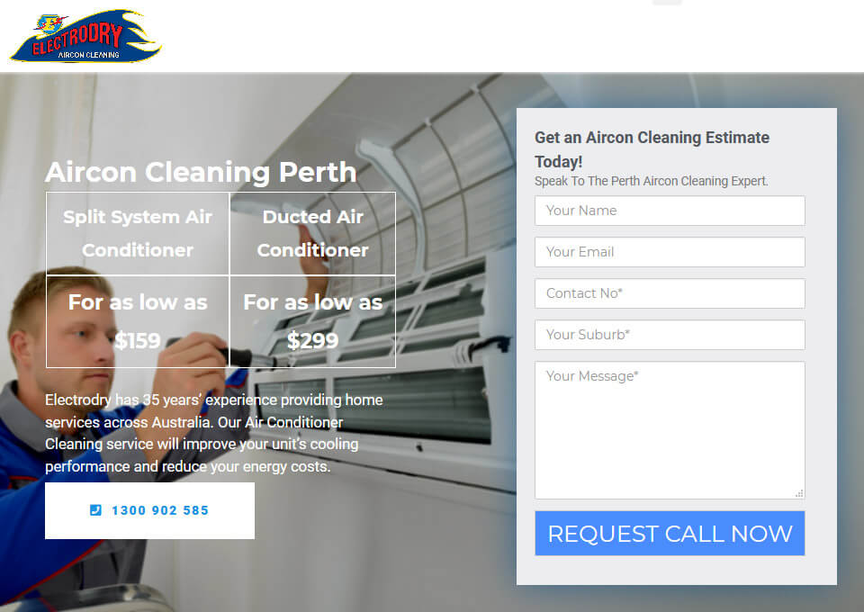 Electrodry Air Con Cleaning Perth