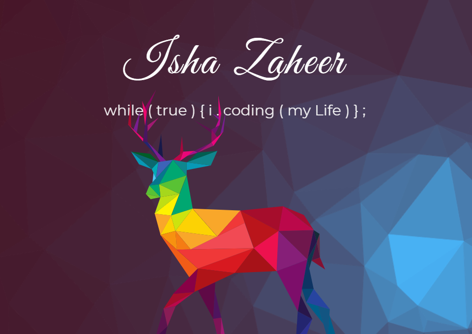 Isha Zaheer
