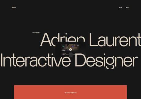 Adrien Laurent – Portfolio