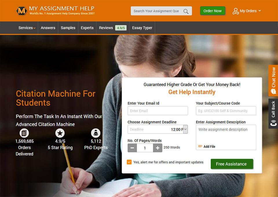 Citation Machine For Students