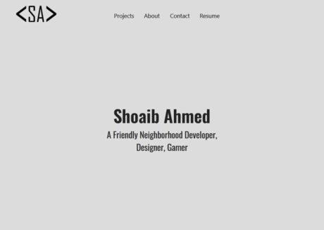 Shoaib Ahmed