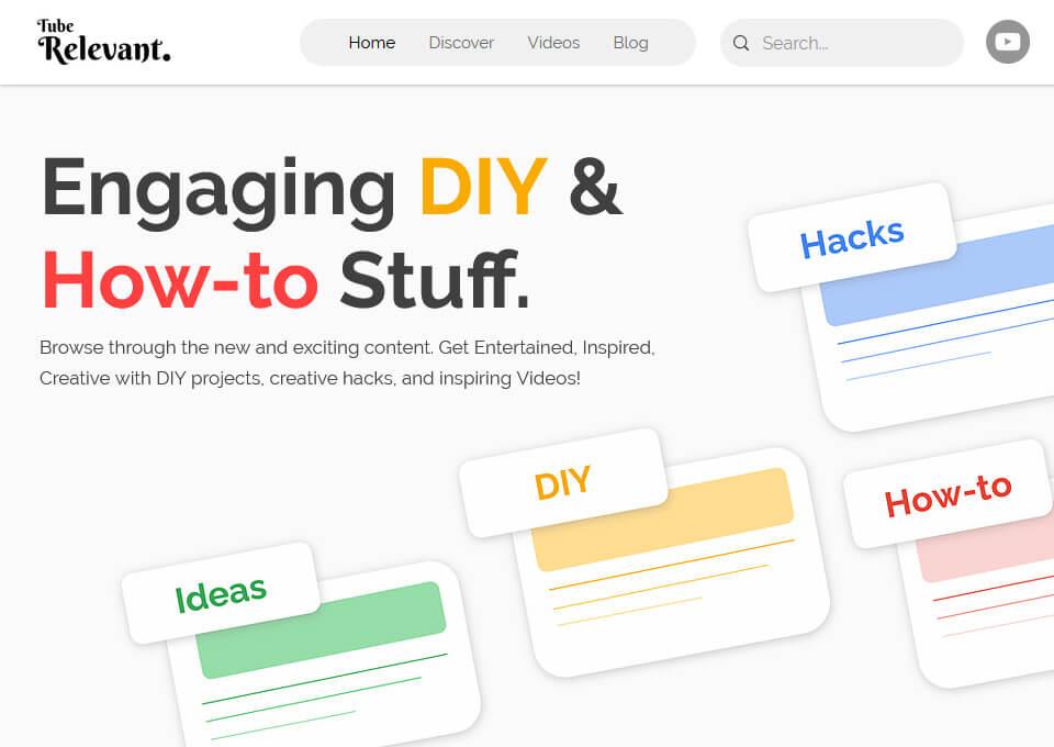 Tube Relevant   DIY & How-to Stuff