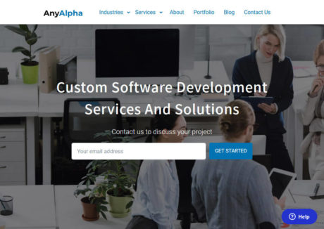 Anyalpha | Software Development Company