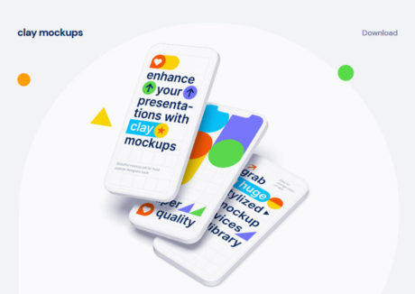 Clay Mockups by ls.graphics