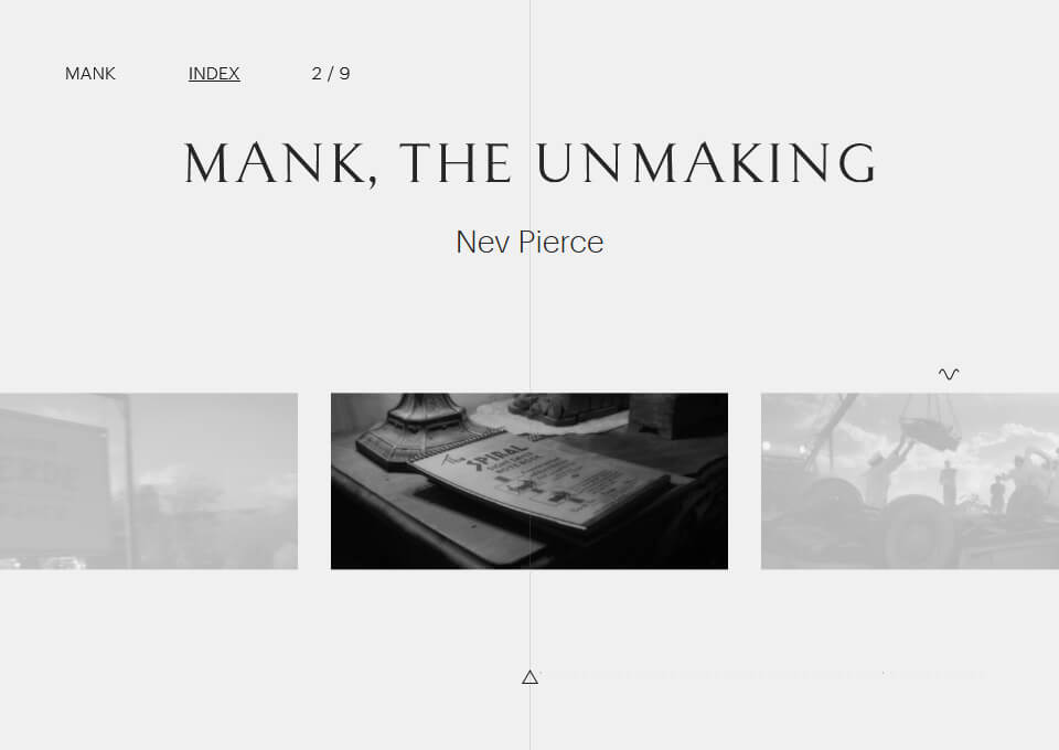 Mank the Unmaking